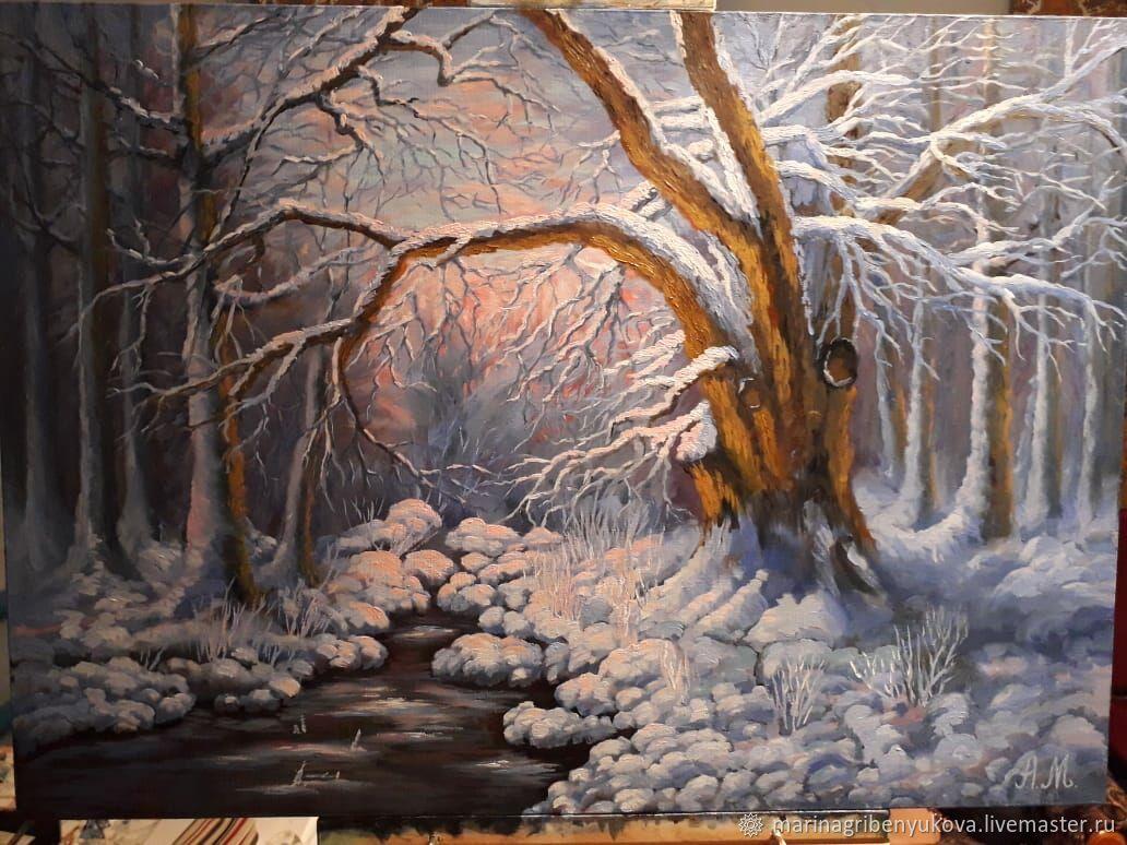 Зима, Картины, Москва,  Фото №1