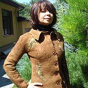 """Одежда ручной работы. Ярмарка Мастеров - ручная работа Жакет  из альпаки """" Тайна Медной горы"""". Handmade."""