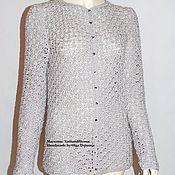 Одежда handmade. Livemaster - original item Jacket knitted. Jacket crochet.