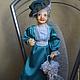 Коллекционные куклы ручной работы. Ярмарка Мастеров - ручная работа. Купить дама Англии. Handmade. Художественная кукла, украшение интерьера