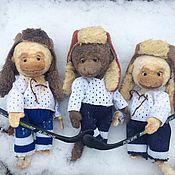 """Куклы и игрушки ручной работы. Ярмарка Мастеров - ручная работа """"Ребята с нашего двора"""". Handmade."""