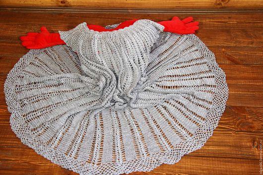 """Платья ручной работы. Ярмарка Мастеров - ручная работа. Купить Платье ажурное вязаное """"Ажурная сталь"""". Handmade. Платье нарядное"""
