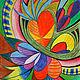 """Абстракция ручной работы. Ярмарка Мастеров - ручная работа. Купить Картина """"Сердечное пространство"""".. Handmade. Сердечки, сердце, любовь, сердечное"""