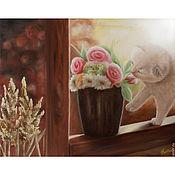 Картины и панно ручной работы. Ярмарка Мастеров - ручная работа Чудесный день (40 х 50 см). Handmade.