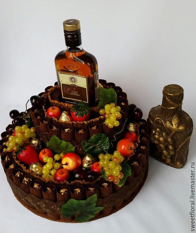 Торт из конфет фото для мужчин