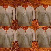 Одежда handmade. Livemaster - original item 100% linen.Shirt