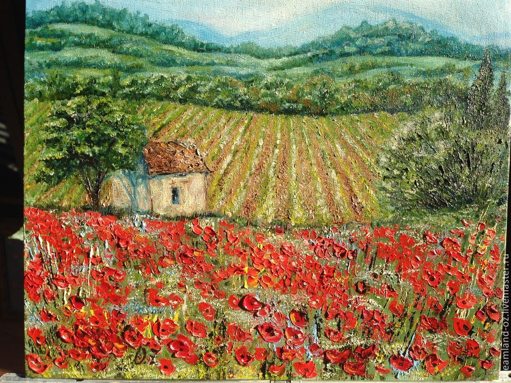 Landscape oil painting 'Sweet heart of Provence', Pictures, Vladivostok,  Фото №1