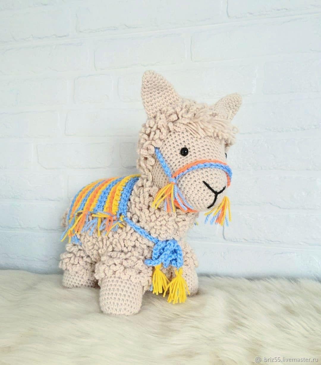 Lama, interior soft toy, Stuffed Toys, Zelenograd,  Фото №1