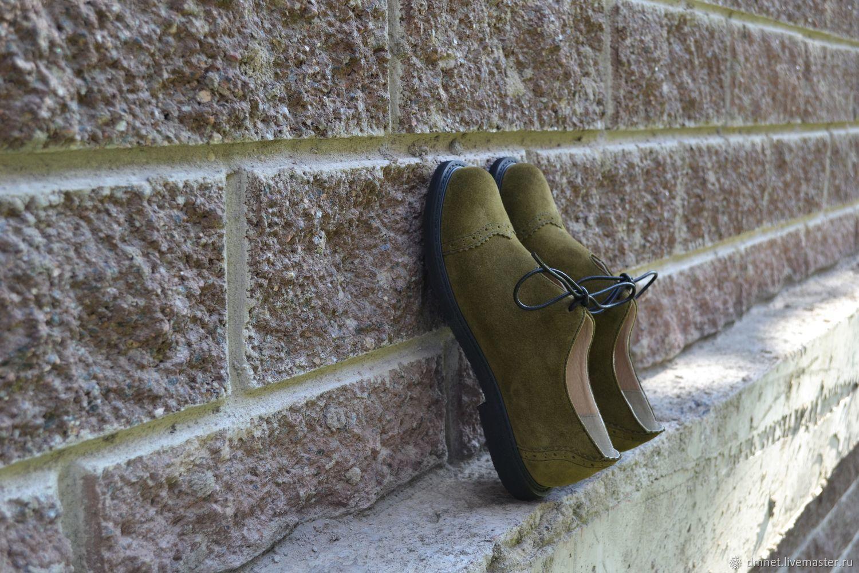 Туфельки женские замшевые, Туфли, Санкт-Петербург, Фото №1