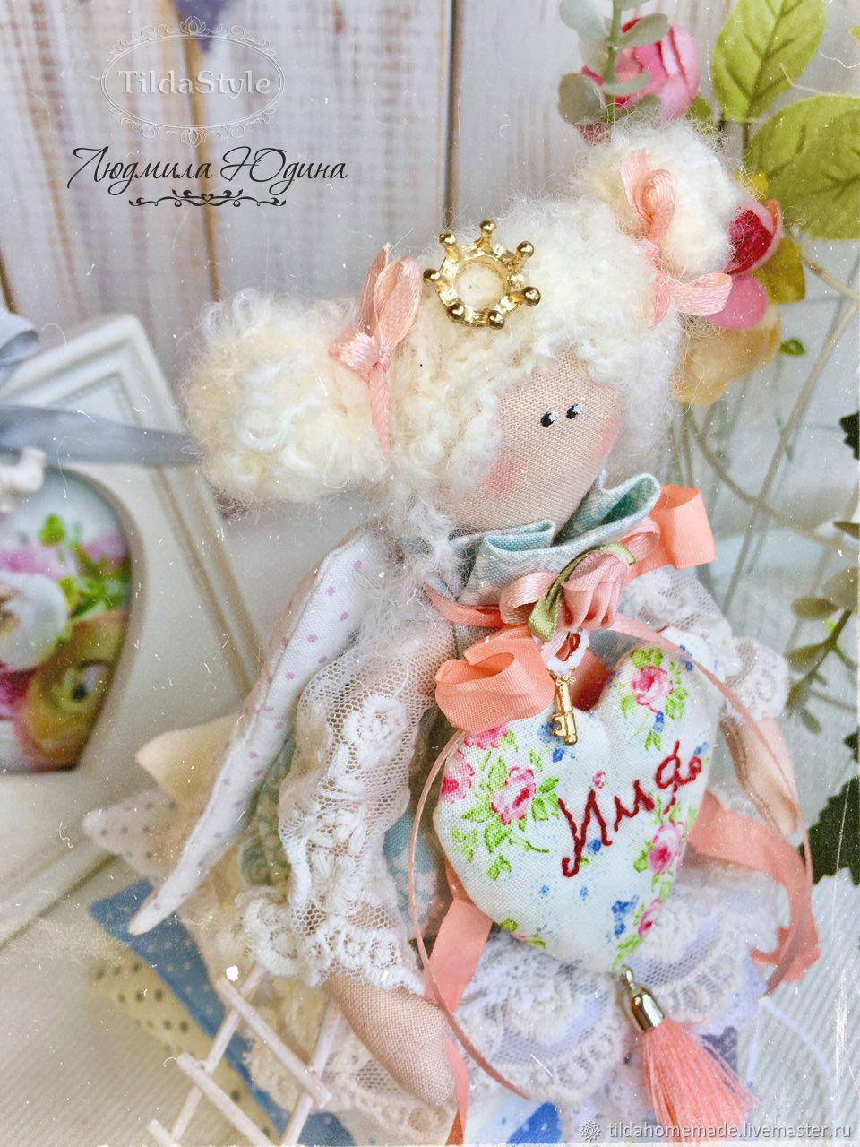 Interior doll the Princess and the pea, Tilda Toys, Krasnoyarsk,  Фото №1