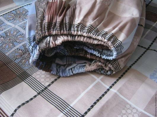 Текстиль, ковры ручной работы. Ярмарка Мастеров - ручная работа. Купить Простынь на резинке. Handmade. Комбинированный, постельное на заказ