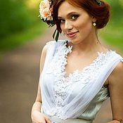 Свадебный салон ручной работы. Ярмарка Мастеров - ручная работа Свадебное платье Нимфа. Handmade.