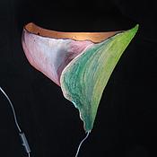 """Для дома и интерьера ручной работы. Ярмарка Мастеров - ручная работа Настенный светильник """"Тай"""". Handmade."""