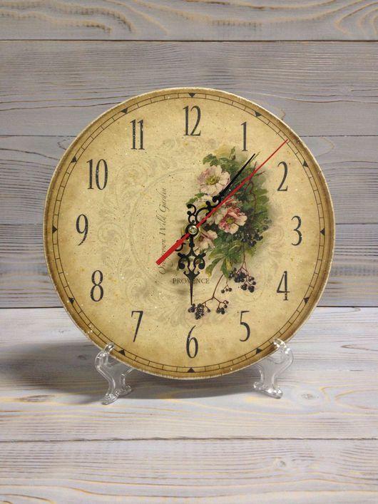 Часы для дома ручной работы. Ярмарка Мастеров - ручная работа. Купить Часы настольные Прованс 20 см.. Handmade. для кухни