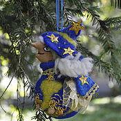 """Подарки к праздникам ручной работы. Ярмарка Мастеров - ручная работа """"Звездочёт""""  ёлочная игрушка. Handmade."""