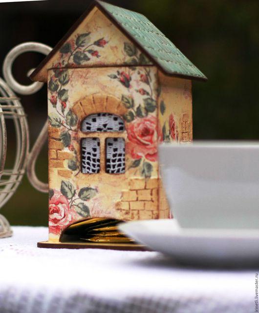 Кухня ручной работы. Ярмарка Мастеров - ручная работа. Купить вечерний чай. Handmade. Бежевый, подарок на любой случай, фанера