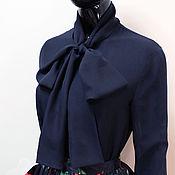 Блузки ручной работы. Ярмарка Мастеров - ручная работа Блуза из шифона с бантом. Handmade.
