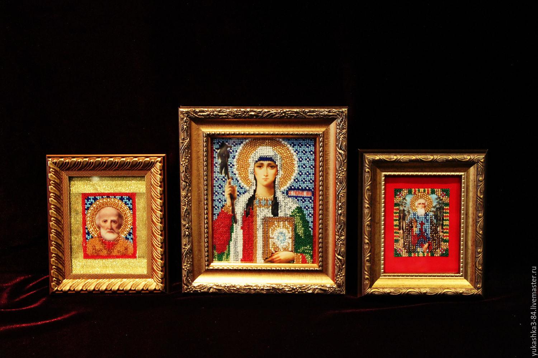 иконы бисером, Иконы, Москва,  Фото №1