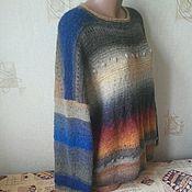 Одежда ручной работы. Ярмарка Мастеров - ручная работа пуловер шерстяной. Handmade.