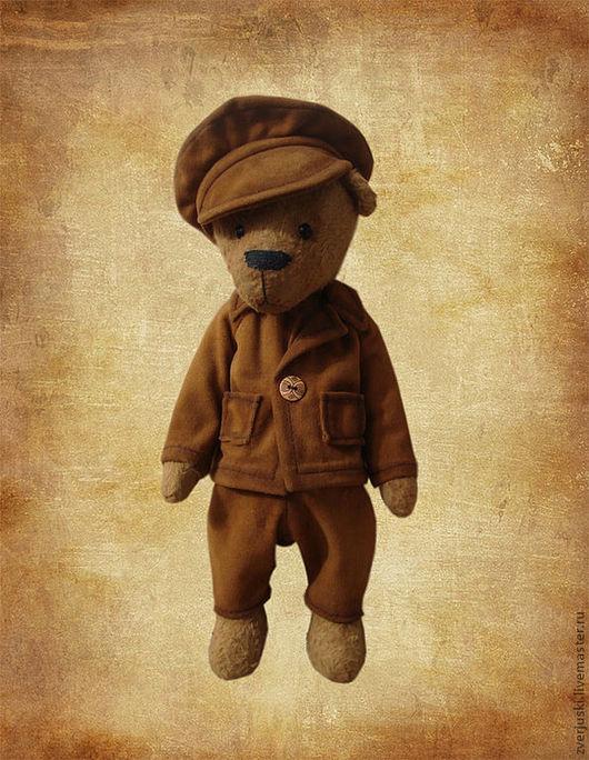 Мишки Тедди ручной работы. Ярмарка Мастеров - ручная работа. Купить Мишка Ватсон. Handmade. Мишки тедди, оригинальный подарок