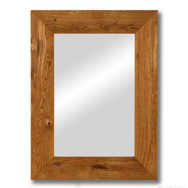 Для дома и интерьера ручной работы. Ярмарка Мастеров - ручная работа Есения – зеркало в раме из натурального дуба. Handmade.