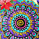 Mandala 'I believe I can fly' decorative plate. Plates. Art by Tanya Shest. My Livemaster. Фото №4