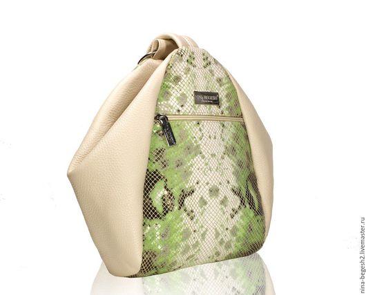 Рюкзаки ручной работы. Ярмарка Мастеров - ручная работа. Купить Рюкзак кожаный Арт.116 сумка женская кожаная. Handmade.