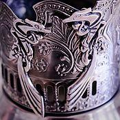 Украшения ручной работы. Ярмарка Мастеров - ручная работа Серьги серебро и эмали Птицы. Handmade.