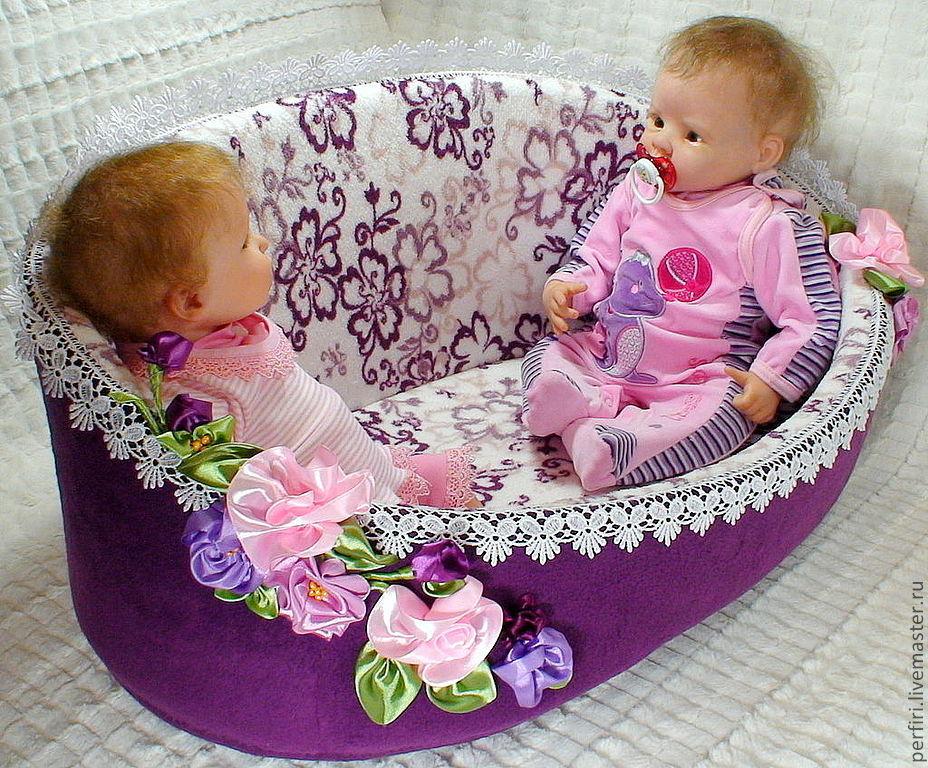 Купить кроватку для куклы реборн