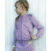 Курточка(бомбер) и юбочка для девочки