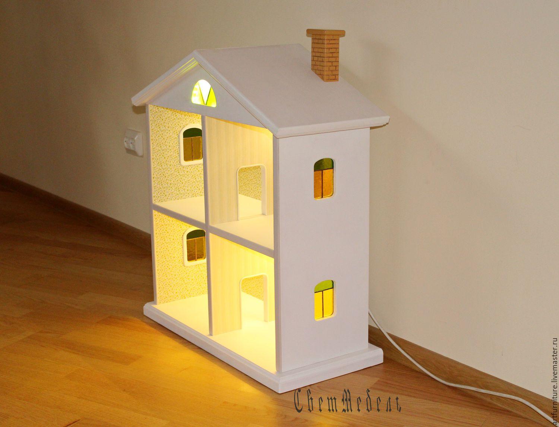 Детские кукольные домики своими руками