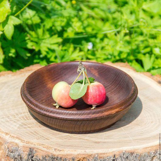 Тарелки ручной работы. Ярмарка Мастеров - ручная работа. Купить Тарелочка из натурального дерева Сибирский Кедр  #Т30. Handmade.