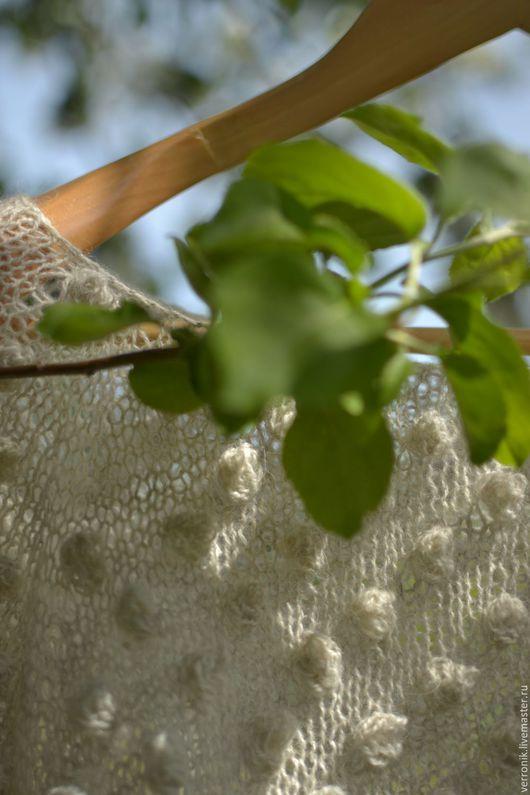 Кофты и свитера ручной работы.  Ярмарка мастеров- ручная работа.  Пуловер вязаный `Воздушный` купить.Серый. Handmade. Магазин мастера Доминика.Pulover vjazanyj `Vozdushnyj`