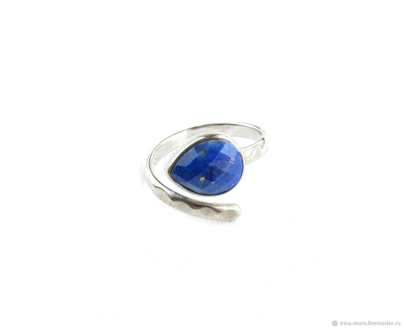 Dark blue lapis lazuli ring, lapis lazuli ring, lapis lazuli ring, Rings, Moscow,  Фото №1