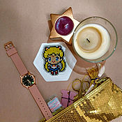 Подарки к праздникам handmade. Livemaster - original item Pin (icon) Sailor moon. Handmade.