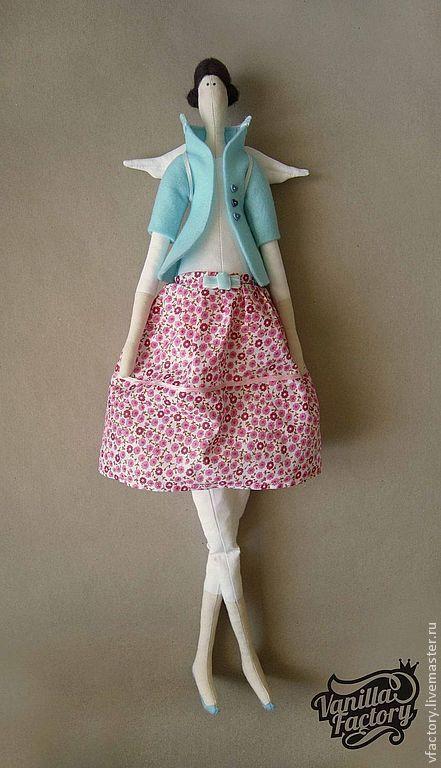 Куклы Тильды ручной работы. Ярмарка Мастеров - ручная работа. Купить Ангел Vanilla Factory. Handmade. Ангел, кукла Тильда