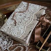 """Блокноты ручной работы. Ярмарка Мастеров - ручная работа Блокнот """"Парижское кружево"""". Handmade."""