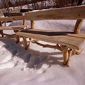 Для дома и интерьера ручной работы. Ярмарка Мастеров - ручная работа деревянная скамья. Handmade.