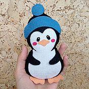 """Куклы и игрушки ручной работы. Ярмарка Мастеров - ручная работа """"Пингвиненок"""" сувенир / игрушка из фетра. Handmade."""