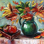 Картины и панно ручной работы. Ярмарка Мастеров - ручная работа Картина Осенняя поэзия. Handmade.