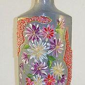 Для дома и интерьера ручной работы. Ярмарка Мастеров - ручная работа Ваза-Бутылка. Handmade.