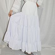 Одежда handmade. Livemaster - original item Petticoat white with lace.. Handmade.