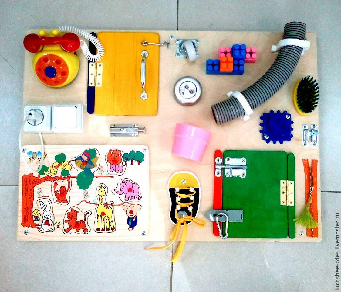 Развивающая игрушка из фанеры