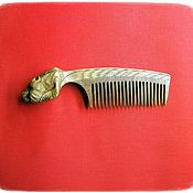 Сувениры и подарки handmade. Livemaster - original item Wooden comb for hair BEAR. Handmade.