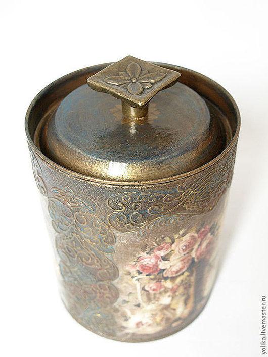 """Кухня ручной работы. Ярмарка Мастеров - ручная работа. Купить Банка для чая """"Вкус Индии"""". Handmade. Банка для чая"""