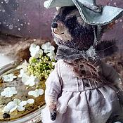 Куклы и игрушки handmade. Livemaster - original item Fairy godmother raccoon Teddy. Handmade.