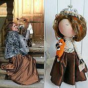 """Портретная кукла ручной работы. Ярмарка Мастеров - ручная работа Интерьерная """"портретная"""" кукла ручной работы. Handmade."""
