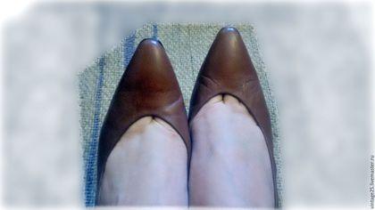 """Винтажная обувь. винтаж туфли кожаные Оригинал Испания 38,5. Винтажный салон """"Консуэлло"""". Ярмарка Мастеров. Женские туфли"""