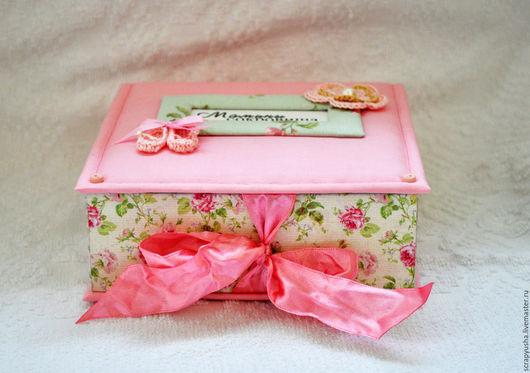 """Подарки для новорожденных, ручной работы. Ярмарка Мастеров - ручная работа. Купить Мамины сокровища """"Розочка"""". Handmade. Розовый, подарок для новорожденной"""