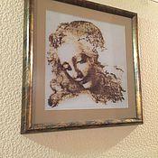 Картины и панно ручной работы. Ярмарка Мастеров - ручная работа Картина вышитая. Handmade.